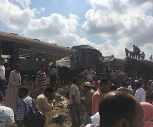 السكك الحديدية: لا وفيات حتى الآن في حادث قطاري الإسكندرية