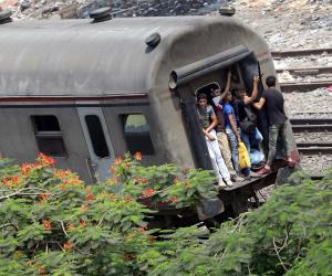 انتظام حركة القطارات بسوهاج بعد تعطل قطار بمحطة فرعية بالمراغة