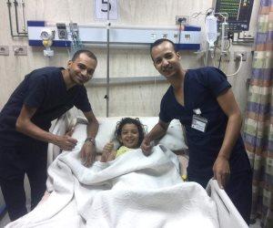مستشفى «راس سدر» تنقذ طفلة تعرضت للغرق وتوقفت عضلة القلب (صور)