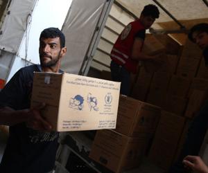 أمين عام الأمم المتحدة يدعو المتحاربين في سوريا بدخول المساعدات الإنسانية