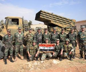 """الجيش السورى يتقدم في ريف دير الزور الشرقي.. ويسيطر على حقل """"العمر"""" النفطي"""