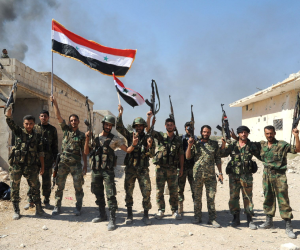 الجيش السوري يسيطر على 4 قرى من داعش