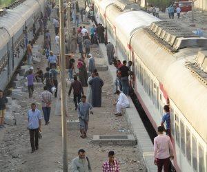 السكة الحديد تنفي انفصال عربات قطار ركاب بمحطة طنطا