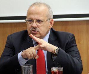 """بشرة خير.. """"الخشت""""يعلن تثبيت العاملين بالصناديق الخاصة في جامعة القاهرة"""
