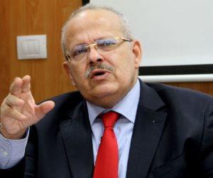 رئيس جامعة القاهرة: علينا الوقوف جميعا ضد الذين لا يريدون استقرار مصر