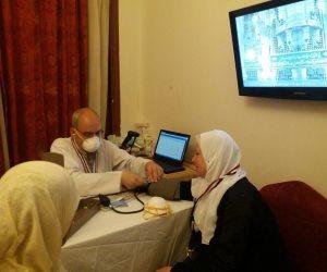 الصحة: عيادات البعثة الطبية للحج توقع الكشف على 210 حاج مصري