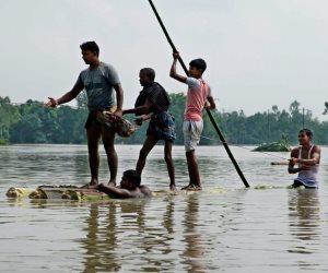 175 قتيلا في الهند والنيبال وبنغلادش جراء الأمطار الموسمية الغزيرة (صور)
