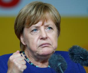 """ميركل: كنت أمل ب""""نتيجة افضل"""" فى الانتخابات التشريعية الالمانية"""