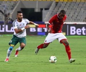 الأهلي يتقدم علي المصري 1 / 0  في الشوط الأول (فيديو)