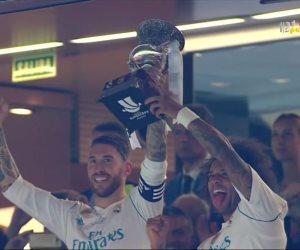 كلاسيكو الأرض.. لحظة تتويج ريال مدريد بالسوبر الإسباني (فيديو وصور)