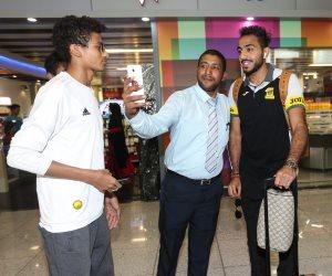 كهربا  برفقة اتحاد جدة في الرياض استعدادًا لمواجهة الفيحاء (صور)