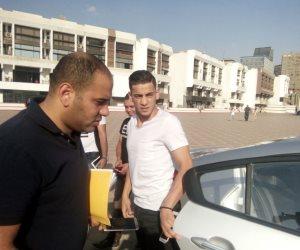 محمد الشامي يشارك في مران الزمالك