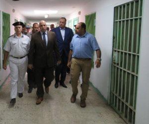 مساعد الوزير لقطاع السجون يزور نزلاء سجن المرج العمومي