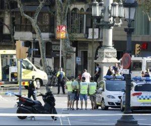 حادث برشلونة.. 4 معتقلين بينهم 3 عرب ليس لهم دوافع إرهابية