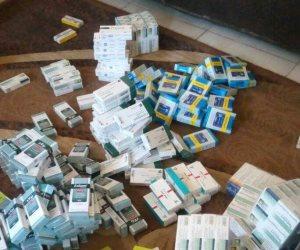 التفتيش الصيدلي تحرر محضر ضد صيدلية لحيازتها كميات أدوية نفسية دون فواتير