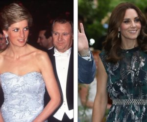 كيت ميدلتون تختار تصميمات مجوهرات الأميرة  ديانا لترتديها في المناسبات المختلفة