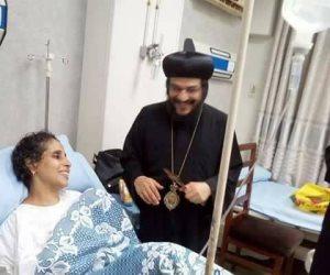 الأب رويس الأورشليمى يؤكد على أهمية تماسك ووحدة الشعب المصرى