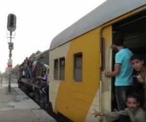 السكة الحديد توضح حقيقة حريق قطار المناشي