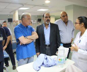 محافظ جنوب سيناء يتفقد أعمال تطوير مستشفى شرم الشيخ الدولي (صور)