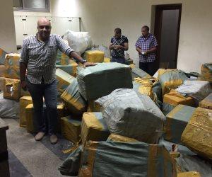 شرطة محور تأمين قناة السيويس تحبط تهريب 91 ألف ساعة