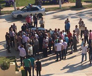 محافظ الدقهلية يصل شربين لحضور نهائي دورة هاني أبو ريدة لكرة القدم