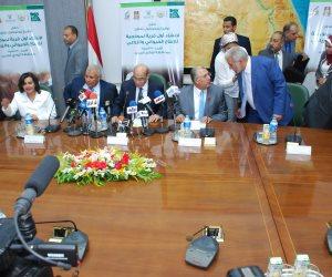وزير الزراعة يشهد توقيع بروتوكول تعاون لإنشاء أول قرية نموذجية للإنتاج الحيواني