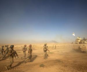 """مصادر عراقية: """"داعش"""" يبدأ إخلاء مقراته فى قضاء الشرقاط بمحافظة صلاح الدين"""