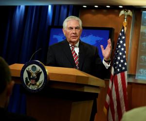 """وزير الخارجية الأمريكي يعارض """"في الوقت الحاضر"""" فرض عقوبات على بورما"""