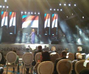 بالصور .. بدء احتفالات أضواء المدينة بهضبة عجيبة لصالح صندوق تحيا مصر