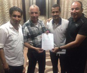 وقع  محمد اشرف روقة لاعب خط وسط طلائع الجيش لنادي الزمالك لمدة خمسة مواسم