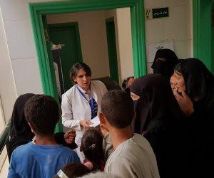 قافلة طبية بقرية الشهداء بسوهاج وتقديم الخدمات الطبية  لـ572 مستهدف