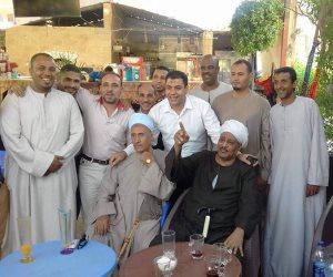 إتمام جلسة صلح بين عائلتي «الحمدانية» و«أولاد طه» ببنى محمديات بأسيوط (صور)