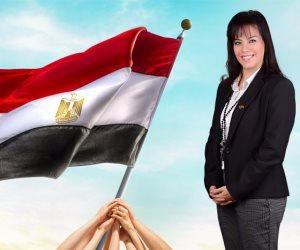 سيلفيا نبيل: المرأة المصرية من أقوى نساء العالم (صور)