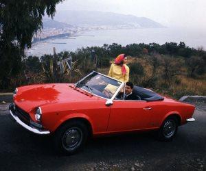 فيات 124 سبايدر .. أفضل سيارة رياضية منخفضة التكاليف في الستينيات