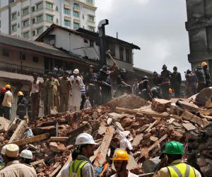 الهند: ارتفاع حصيلة ضحايا انهيار مبنى إلى 16 قتيلا و 30 مصابا