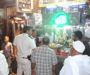 مجلس مدينة الأقصر يحرر 72 محضرا ومخالفة إشغالات قبل عيد الأضحى (صور)