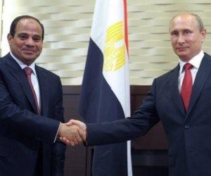 «سبوتنيك»: الرئيسي السيسي وبوتين يبحثان استئناف الرحلات الجوية الروسية للقاهرة