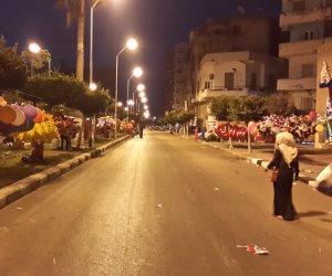 مظاهر احتفالية حول الساحات قبيل صلاة العيد ببورسعيد (صور)