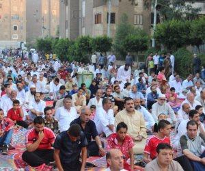 توافد الآلاف على ساحات صلاة عيد الأضحى بالمحافظات