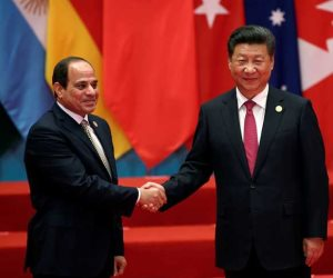 الرئيس الصيني: ندعم الجهود المصرية في مكافحة الإرهاب