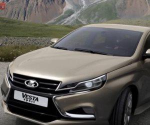 نشر صور لسيارة لادا فيستا الرياضية الجديدة على الإنترنت (فيديو)