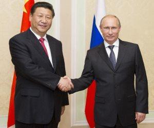 الرئيس الصيني ونظيره الروسي يتفقان على تعزيز السلام والتنمية العالمية