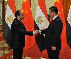السيسي والرئيس الصيني .. سبعة لقاءات لتعزيز العلاقات الثنائية بين البلدين