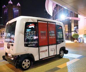 مركبات أجرة ذاتية القيادة في دبي