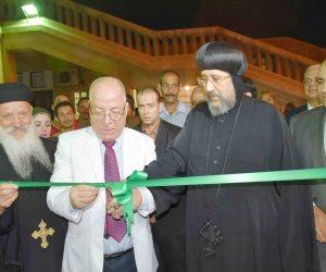افتتاح معرض كتاب الكاتدرائية المرقسية بالعباسية (صور)