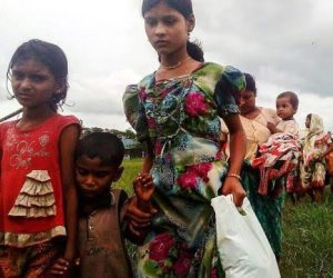 الروهينجا يواصلون الفرار إلى بنجلادش