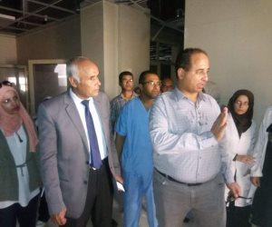 وكيل صحة بشمال سيناء يتفقد امتحانات معهد التمريض بمستشفى العريش العام (صور)
