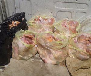 حبس مدير مصنع 4 أيام لحيازته 11 طن دجاج غير صالح للاستخدام