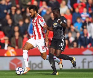 ستوك سيتي يتعادل مع مانشستر يونايتد 1/1 في الشوط الأول (فيديو)