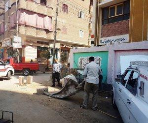 حملة نظافة شاملة بشوارع الهرم والعمرانية وبولاق الدكرور